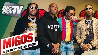 BigBoyTV - Migos on 'Culture 2' & Being The Best Group of All Time | Backstage @ Album Release Party