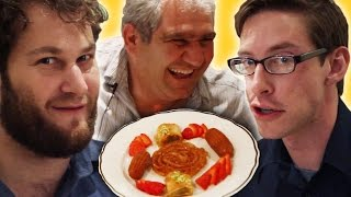 Americans Try Persian Food With Their Driver