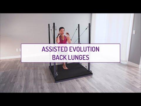 Assisted Evolution Back Lunges