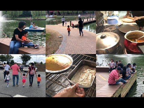 Simple Indian Dinner Recipe/Baking Mango Cake /Banana Bread/A Day with My Friends