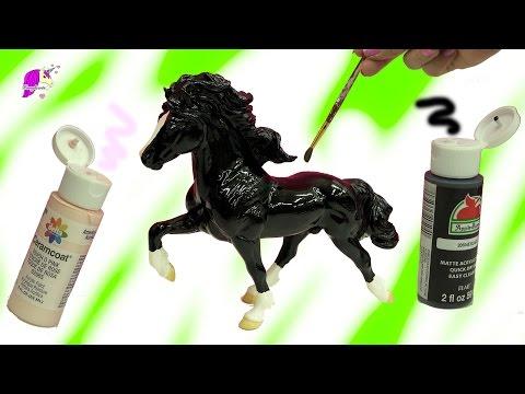 Acrylic Paint Do It Yourself DIY Painting Breyerfest 2017 Rare Horse – Custom Video