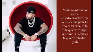 Te Robaré Ft. Ozuna   Nicky Jam   (Lyrics)