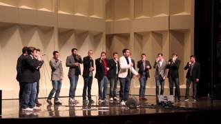 Soul2Soul performing Feeling Good (Muse a cappella cover)
