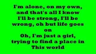 A place in this world w/ lyrics