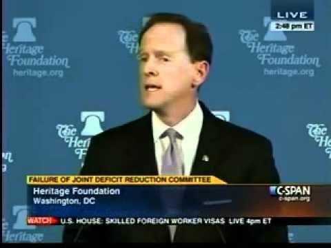 Sen. Toomey speaks to Heritage Foundation - Part III