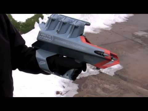 "Снежкобластер для 3"" снарядов ""SNOW FORCE"" BT895"