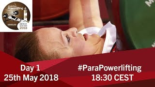 Women's Up to 50kg | World Para Powerlifting European Open Championships | Kholo.pk