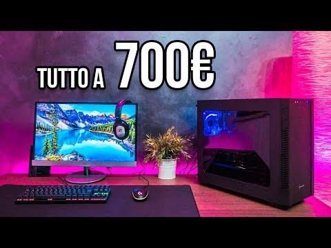 PROVIAMO UNA POSTAZIONE COMPLETA a 700€ -  PC + PERIFERICHE + MONITOR