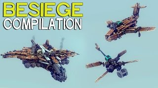 ►Besiege Compilation - Popular Flyers