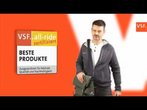 VAUDE Office Bags Augsburg + Bayreuth - VSF..all-ride Zertifikat