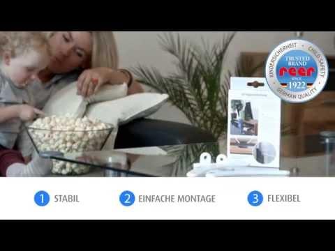Vorschau: TV Kippsicherung für Flachbild Fernseher
