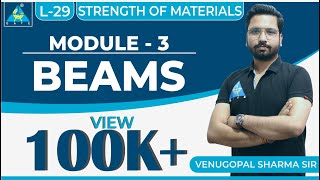 Strength Of Materials | Module 3 | Beams | (Lecture 29)