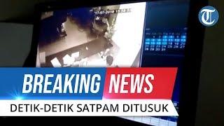 BREAKING NEWS: Video Detik-detik Satpam BRI Ditusuk Perampok di Sanggau