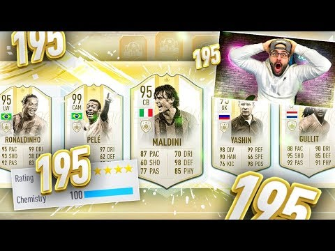 OMG YES WHAT A DRAFT 195 DRAFT CHALLENGE!! FIFA 19 Ultimate Team Draft
