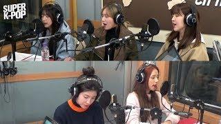 [Super K-Pop] 라붐 (LABOUM)'s Singin' Live '불을 켜 (Turn It On)'