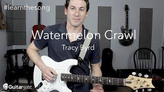 Watermelon Crawl | Tracy Byrd | Hybrid Picking Guitar Lesson / Tutorial