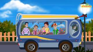 The Wheels On The Bus – Famous Nursery Rhymes Collection I Children Songs