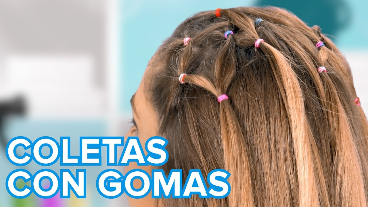 Cómo hacer un peinado de coletas entrelazadas | Peinados para niñas