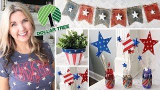 Dollar Tree DIY 4th of July ⭐ Fourth of July Decor