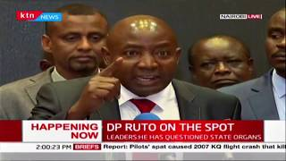 Lawmakers allied to President Uhuru hit out at Ruto, dare him to resign