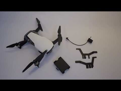 drone-sky-hook--installing-the-release-and-drop-device-for-dji-mavic-air