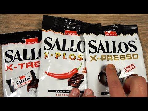 Sallos Lakritz BonBons ✪ Chili ✪ Salz ✪ Espresso