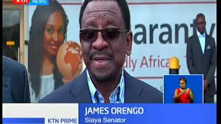 James Orengo and businessman Jimi Wanjigi finally allowed to leave the country for Harare