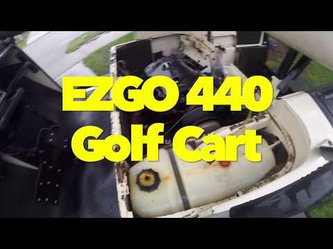 EZGO 440 Golf Cart