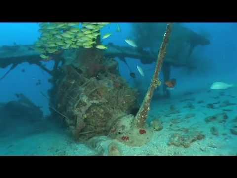 Flugzeugwrack, Lissenung Island Resort / Kavieng (New Ireland),Papua-Neuguinea
