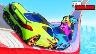 АВТОМОБИЛЬНАЯ МНОГОНОЖКА НА ВОЛРАЙДЕ ДЛИННОЙ В 4300КМ НАД ВСЕЙ КАРТОЙ В GTA 5 ONLINE