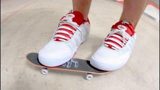 Actually Skateboarding On A Handboard!