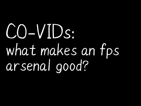 CO-VIDs: what makes an fps arsenal good?