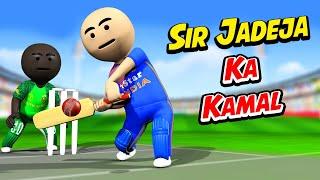 3D ANIM COMEDY - CRICKET || Sir Jadeja Ka Kamal || INDIA vs SA || LAST OVER