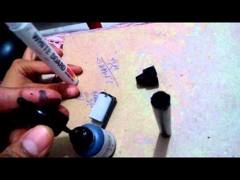 How to Fill ink and how to refill White Board Marker very easy way.
