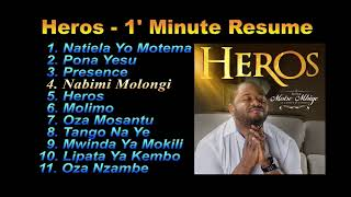 "Moise Mbiye – Album ""Heros"" Intros"