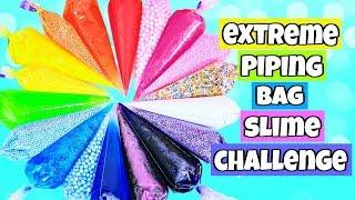 Extreme Piping Bag Slime Challenge!