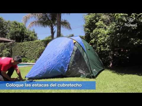 Video instructivo para el armado de carpa Iglu