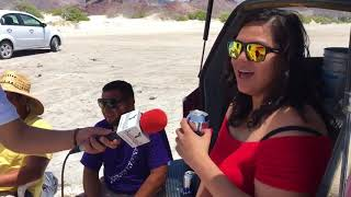 Cocos y playas en Baja California Sur