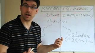 Playlist Kvadratická rovnice