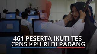 461 Peserta Ikuti Tes CPNS KPU RI Regional 2 Se-Sumatera di Padang, Tersedia 716 Formasi