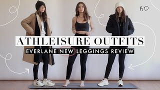 Athleisure Outfits X Everlane Leggings Review + Try-On | AD