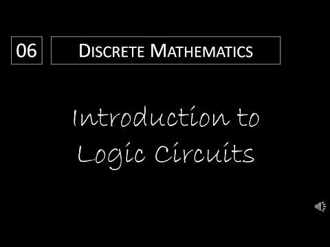 Discrete Math - 1.2.3 Introduction to Logic Circuits