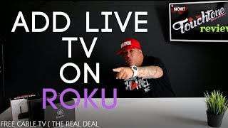 ADD LIVE TV PREMIUM CHANNELS ON YOUR  ROKU AND ROKU TV