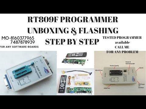 RT809F BIOS PROGRAMMER TUTORIAL (Subtitle English) - смотреть онлайн
