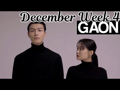[TOP 100] Gaon Kpop Chart 2018 [December Week 4]