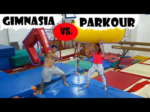 GIMNASIA VS PARKOUR  con Silvia / Alfon WHAT !