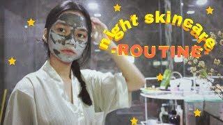 NIGHT SKINCARE ROUTINE Video thumbnail
