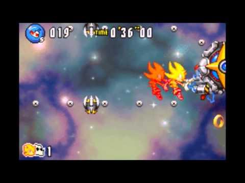 Sonic Advance 3 Walkthrough - Chaos Angel Boss: 40