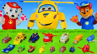 Fire Truck, Concrete Mixer, Cars, Excavator, Tractor & Toy Vehicles for Kids