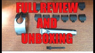 Wahl Stubble and Beard Trimmer 9818 Review and Unboxing